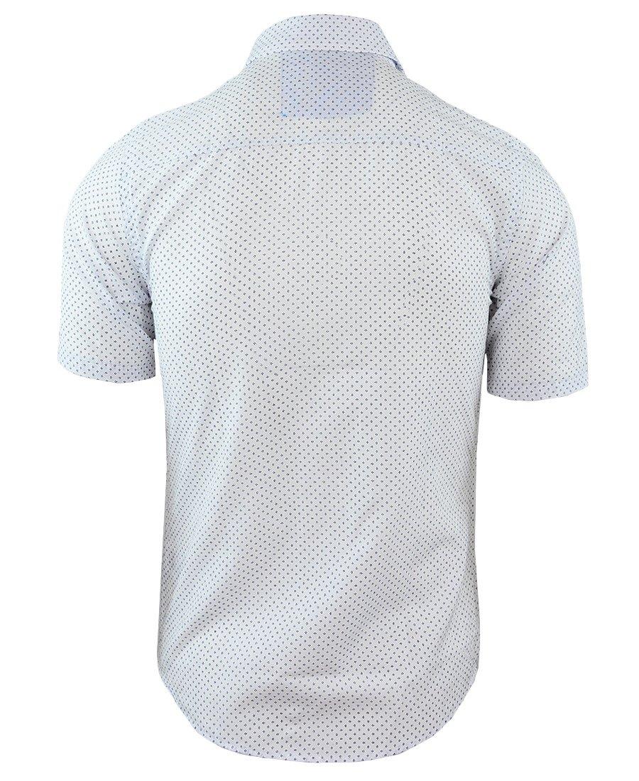df7b17d752717a ... Koszula męska z krótkim rękawem w kolorze białym 085 Kliknij, aby  powiększyć ...