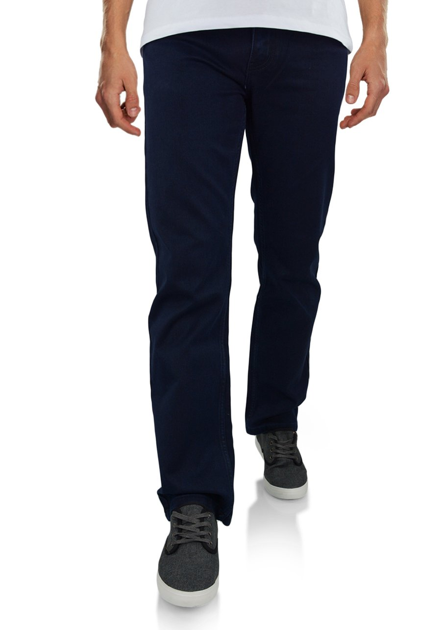887ee64ae55923 Spodnie chinosy męskie granatowe 668-68 | SUPER STAR | Sklep internetowy  Merits.pl