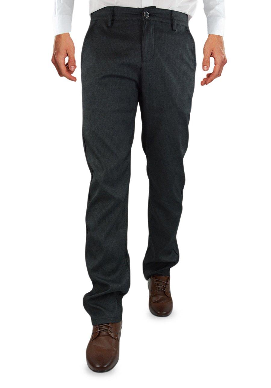 879b55449e282 Wyjściowe spodnie męskie w kolorze ciemno-grafitowym BM096-1/5/7 | BIGMAN |  Sklep internetowy Merits.pl
